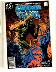 Swamp Thing # 42 VF/NM DC Comic Book Alan Moore Justice League Batman Flash WS9