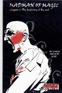 Madman of Magic #1 VF/NM kickstarter A BANKRUPT GOVERNMENT occupy wall street