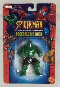 ToyBiz Superhero die cast metal model Hulk