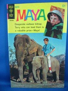 MAYA 1 Fine VF Photo Cover Jay North Dennis the Menace 1967