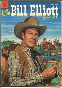 Wild Bill Elliott #9 1952-Dell-Movie photo covers-FN+