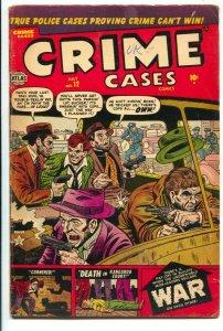 Crime Cases #12 1952-Atlas-Resevoir Dogs cover=Allen Bellman-George Tuska-f...