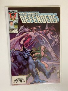 The New Defenders #125 Direct Edition 8.0 VF (1983)