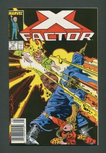 X-Factor #16  / 9.6 NM+ /  Newsstand / May 1987