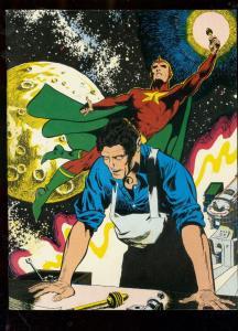 Rocket's Blast And Comicollector Fanzine #104-Starman cover- VF