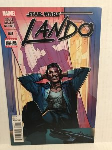 Star Wars: Lando #1 (2016) Unlimited Combined Shipping On all Items In Our St...