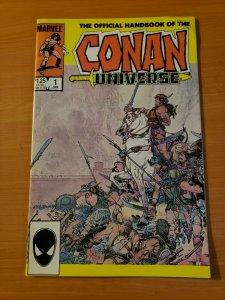 Official Handbook of the Conan Universe #1 ~ NEAR MINT NM ~ 1986 Marvel Comics
