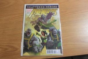 Avengers # 20 2012 MARVEL  hydra +SHATTERED HEROES HULK THOR HAMMER