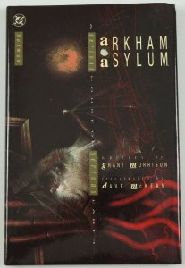 Batman: Arkham Asylum OGN HC 1989 DC comics grant morrison dave mckean joker 1st