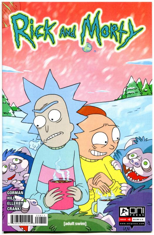 RICK and MORTY #8, 1st, NM, Grandpa, Oni Press, from Cartoon 2015, more in store