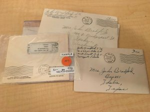 22 Handwritten Soldier Letters from WW2 1939-1944 Navy US Army Love One B12 JKT2