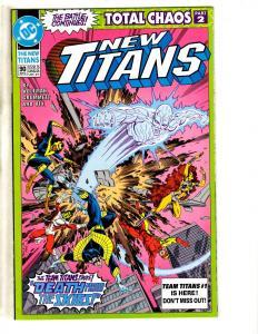 13 New Titans DC Comics # 90 91 92 93 94 95 96 97 98 100 101 + Annual 7 & 8 CR19