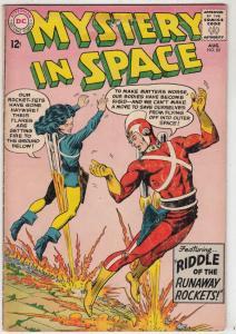 Mystery in Space #85 (Aug-63) FN Mid-Grade Adam Strange, Allana
