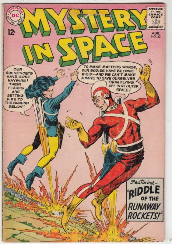 Mystery in Space #85 (Aug-63) FN Mid-Grade Adam Strange, Allana