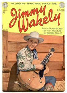 Jimmy Wakely #3 1950-Frazetta art- DC Western FN+