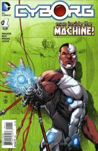 Cyborg #1 VF; DC | save on shipping - details inside