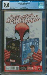 Amazing Spider-Man #6 CGC Graded 9.8 Silk, Black Cat & Electro appearance