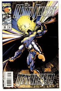 MARC SPECTOR MOON KNIGHT #56-1993-PLATT ART-HTF