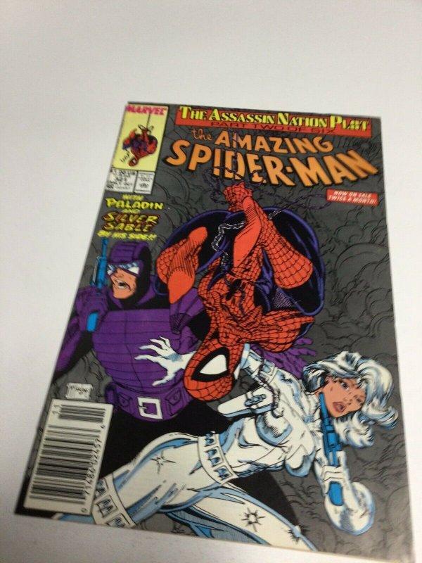 Amazing Spider-Man 321 Nm- Near Mint- Newsstand Edition Marvel