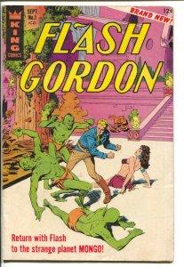 Flash Gordon #1 1966-King-1st issue-Al Williamson art-Mandrake the Magician-FN-