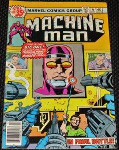 Machine Man #9 (1978)