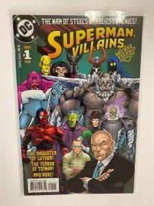 Superman Villains Secret Files #1 DC 4.0 VG (1998)