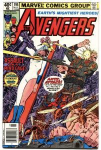 Avengers #195. 1st Brief Taskmaster. Marvel. Bronze-Age. Key Issue