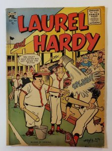 Laurel And Hardy #26 Golden Age 1955 St. John Publishing Baseball Cover FN-