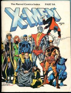 Marvel Comics Index #9A- X-Men issue- history- cover gallery 2nd print