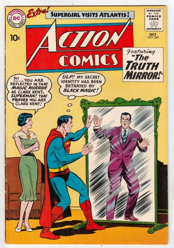 Action Comics #269 (Oct-60) VF/NM High-Grade Superman, Supergirl