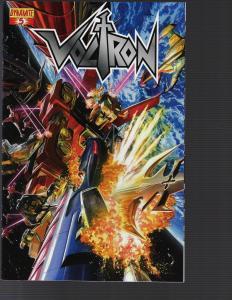 Voltron #5 (Dynamite, 2011)