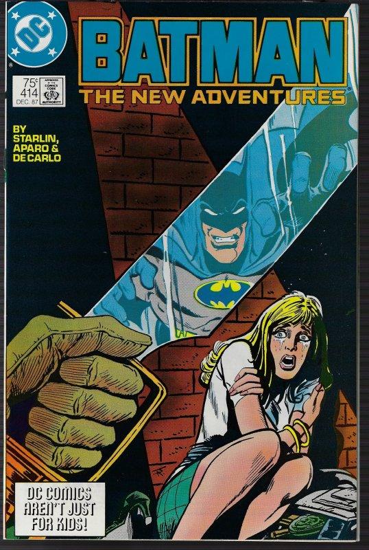 Batman #414 (DC, 1987) NM