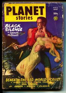 Planet Stories-Pulps-Fall/1947-Emmett McDowell-Ray Bradbury