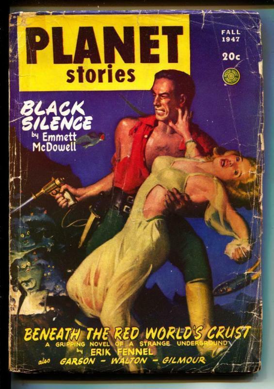 Planet Stories-Pulps-Fall/1947-Emmett McDowell-Ray Bradbury