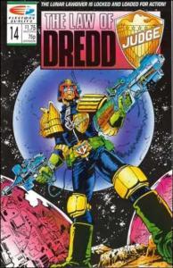 Law of Dredd #14, NM- (Stock photo)