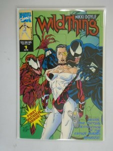 Wildthing #1 featurng Venom and Carnage 8.0 VF (1993 Marvel UK)