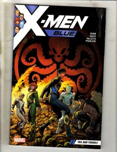 X-Men Blue Vol. # 2 Marvel Comics TPB Graphic Novel Comic Book Wolverine J352