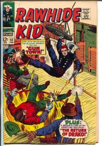 Rawhide Kid #62 1968-Marvel-bar fight cover-Drako-FN-