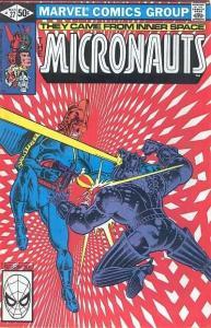 Micronauts (1979 series) #27, VF- (Stock photo)
