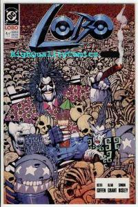 LOBO 4, NM+, Mini-series, Simon Bisley, Alan Grant, 1990, more in store