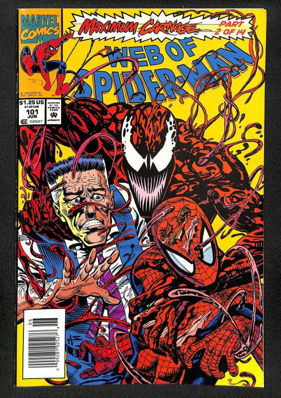 Web of Spider-Man #101 (1993)