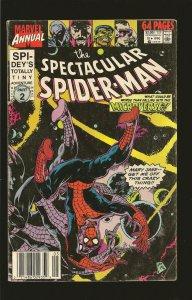 Marvel Comics The Spectacular Spider-Man Annual Vol 1 No 10 1990