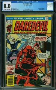 Daredevil #131 (Marvel, 1976) CGC 8.0