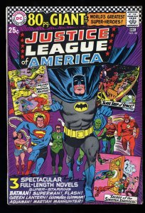 Justice League Of America #48 FN 6.0 80 Page Giant G-29! DC Comics