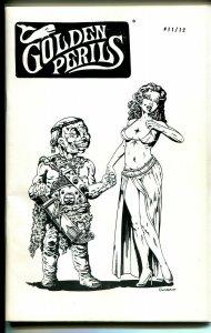 Golden Perils #11/12 1988-pulp fanzine-double issue-Ron Wilber-Shiwan Kwan-NM