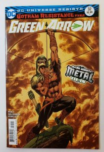 Green Arrow #32 Rebirth Dark Nights Metal Tie-In VF/NM Variant Mike Grell Cover