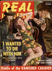 Real Detective Magazine March 1941-VANISHED CADAVER