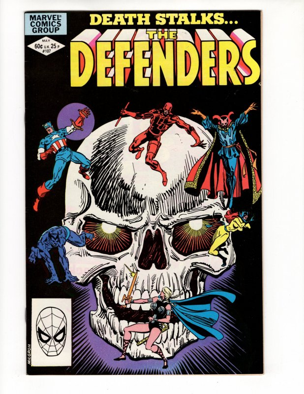 DEFENDERS #107 (VF) No Resv! 1¢ Auction! See More!!!