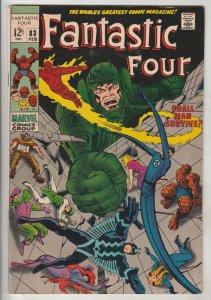 Fantastic Four #83 (Feb-69) VF/NM- High-Grade Fantastic Four, Mr. Fantastic (...