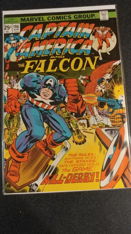 CAPTAIN AMERICA #196 VF-